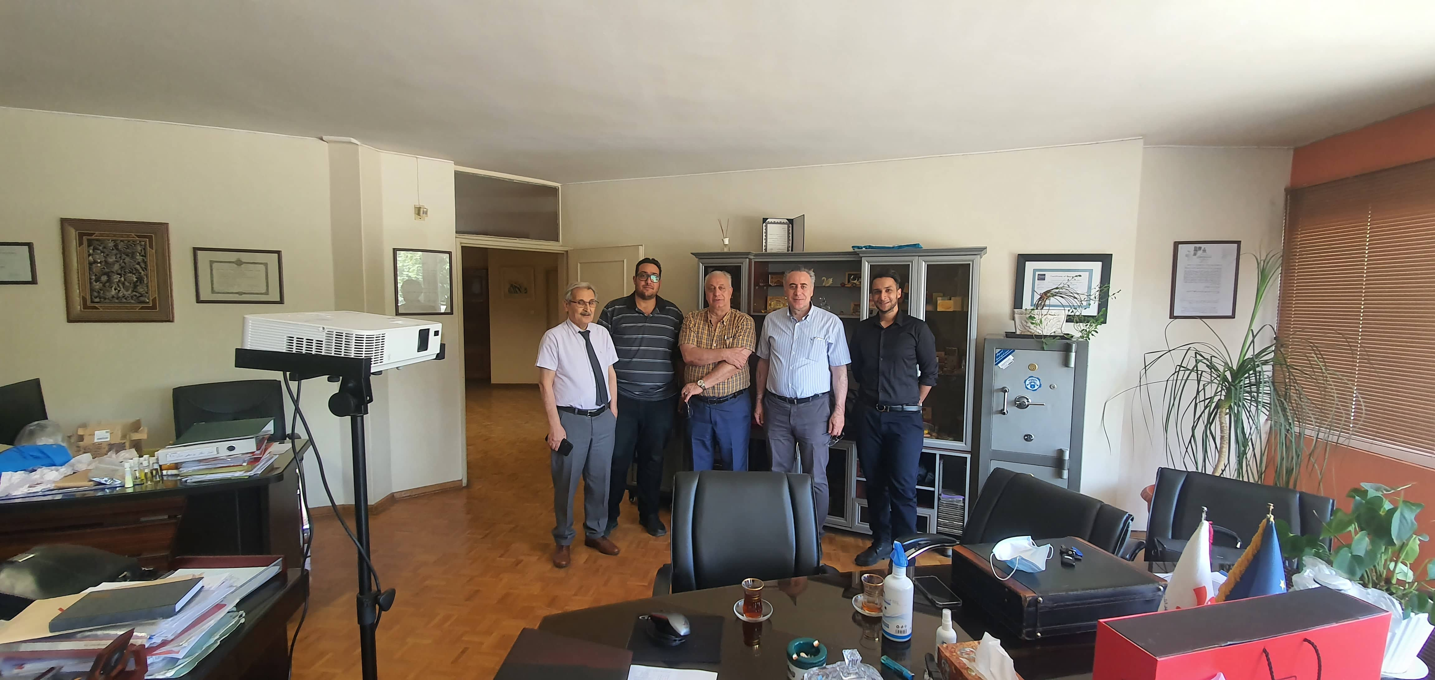 Start of cooperation of AKP with Youssefi factories